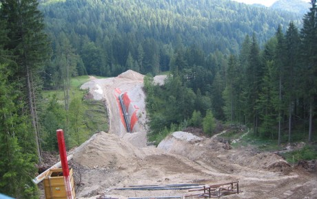 Ilcev cantiere tarvisio microtunneling