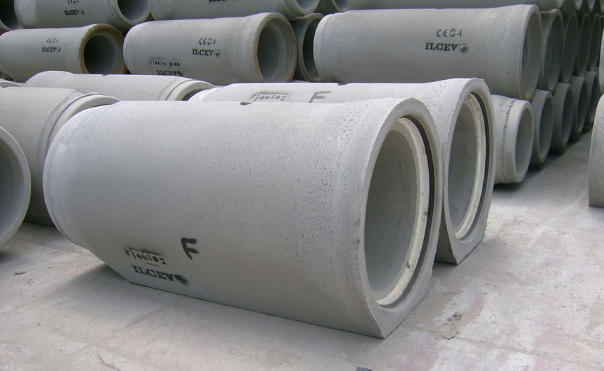 ILCEV Circular pipes with a flat base with G-RING joint