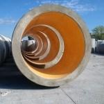 Condotte in calcestruzzo rivestite con liner in PEAD poli-etilene alta densità